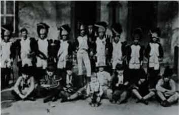 1925. Les grognards de Napoléon en Espagne - par la troupe du Patronage de Serémange-Erzange