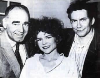 1988. L'actrice Sabine Paturel dans la menteuse