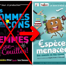 ATTENTION : annulation «Les Hommes sont cons…»