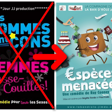 ATTENTION : annulation « Les Hommes sont cons… »